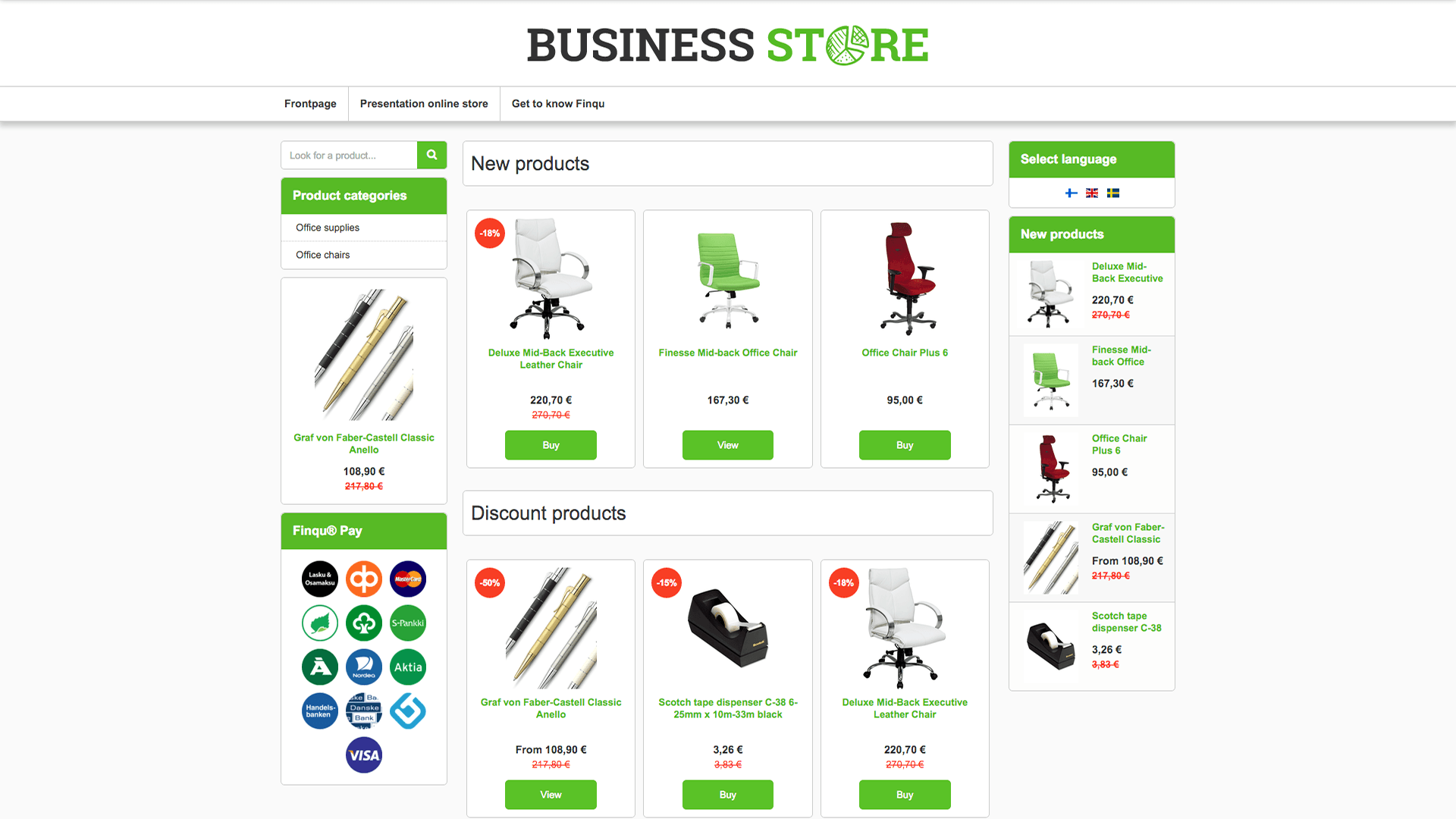 Business Store