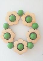 Kukkais-rannekoru, vihreä