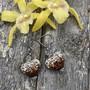 Bling-sydänkorvakorut, kupari
