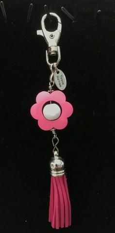 Kukkais-laukkukoru pinkki