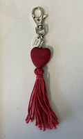 Sydän laukkukoru punainen