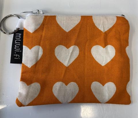 Minipussukka cook-sydän oranssi