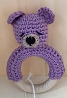 Vauvalelu Nalle violetti