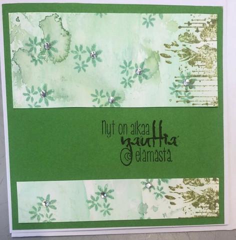 Kortti eläkkeelle vihreä