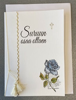 Suruadressi sininen ruusu