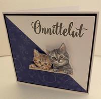 Kortti kissat 3D kurkistaa