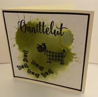 Kortti vihreä koira