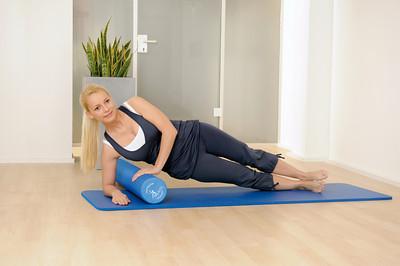 Pilatesrulla soft, sissel
