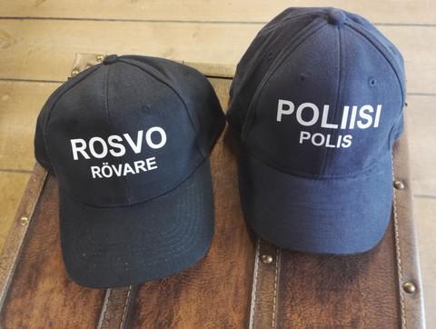 Rosvo ja poliisi sekä putka