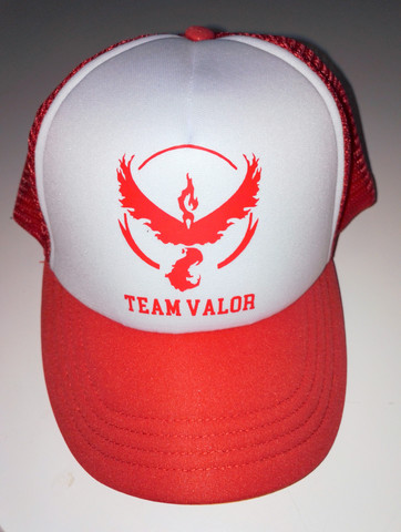Pokemon Go Valor Team-lippis