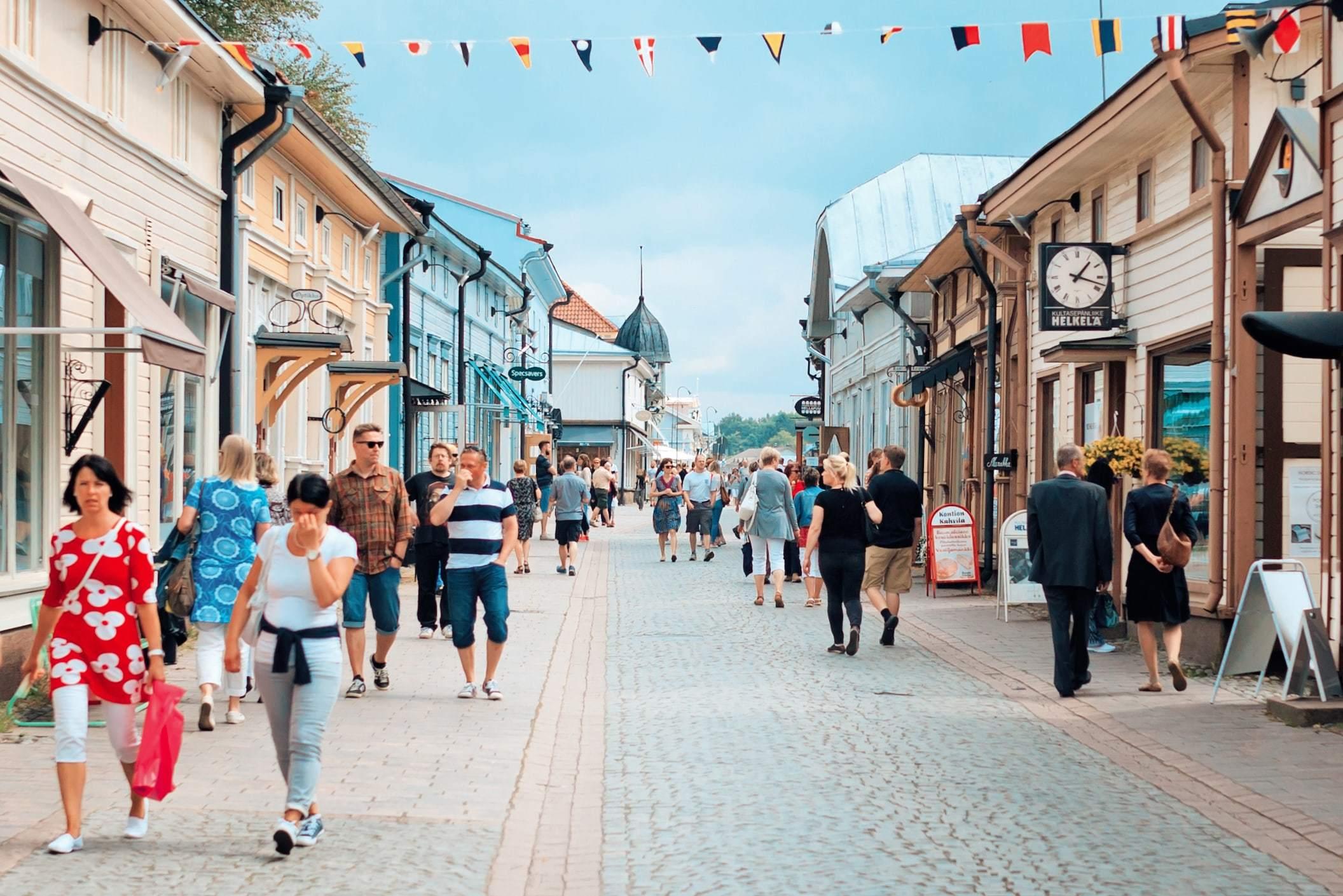 Vanha Rauma, Suomen kaunein ostoskeskus