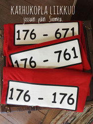 Karhukopla paidat  lapsille, koot 116cm- 152cm