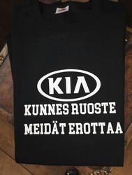 KUNNES RUOSTE MEIDÄT EROTTAA paita