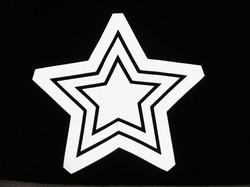 Tähti-pipo lapsille HEIJASTAVA KUVA