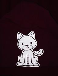Kissa-pipo lapsille HEIJASTAVA KUVA