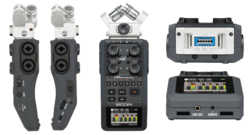 Zoom H6   Portable 6-Track Audio Recorder