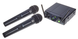 AKG WMS 40 - Dual Vocal Set-trådlös mikrofon