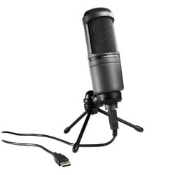 Audio-Technica Mikrofoni AT2020USB+