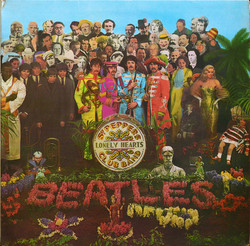 Beatles : Sgt. Pepper's lonely hearts club band   LP