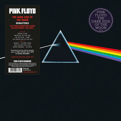 Pink Floyd : Dark side of the moon-Remastered LP