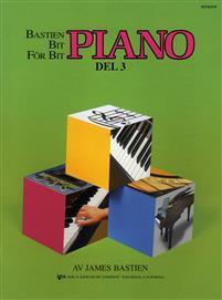 Bastien bit för bit - Piano - del 3