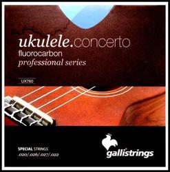 Galli UX-760 Concert ukulele kielet
