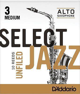 SELECT JAZZ  A-Sax blad Unf 2M