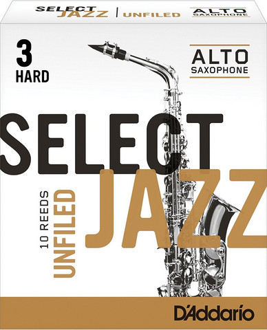 SELECT JAZZ  A-Sax blad Unf 3H
