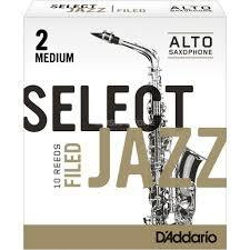 SELECT JAZZ  A-Sax blad Filed 2M
