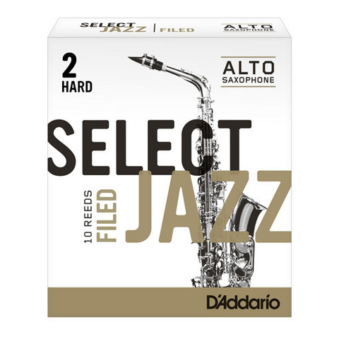 SELECT JAZZ  A-Sax blad Filed 2H
