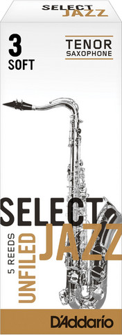 SELECT JAZZ  T-Sax blad Unf 3S