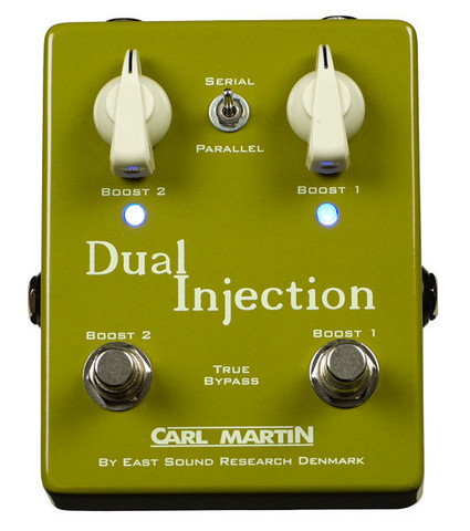 Carl Martin: Dual Injection boost-pedal