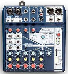 Soundcraft Notepad-8 FX Mixer