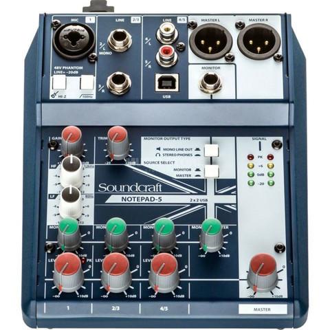 Soundcraft Notepad-5 Mixer