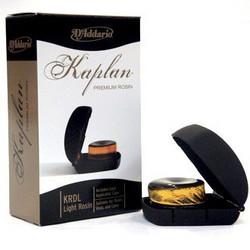 Daddario Kaplan premium harts, light, inkl. etui