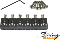 Graphtech String Saver saddles for strat & tele