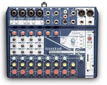 Soundcraft Notepad-12 FX Mixer