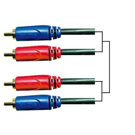 Schulz GRCA 10 RCA kabel - 6 mt