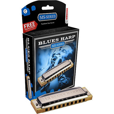 Munspel Hohner 532/20 MS Blues Harp F-dur