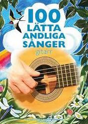 100 lätta andliga sånger - gitarr- nuottikirja