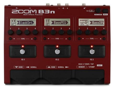 Zoom B3n - bassomultiefekti