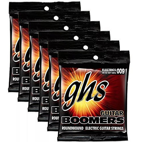 GHS Boomers Xtra Light 9-42 6-Pack