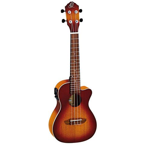 Ortega RUDAWN-CE ukulele med mikrofon, concert-storlek