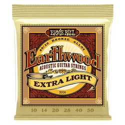 Ernie Ball -  Earthwood Bronze Extra Light 10-50