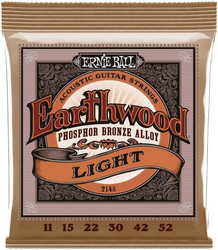 Ernie Ball -   Earthwood Phosphor Bronze Light 11-52