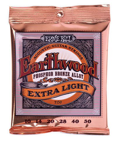 Ernie Ball - Earthwood Phosphor Bronze Extra Light 10-50