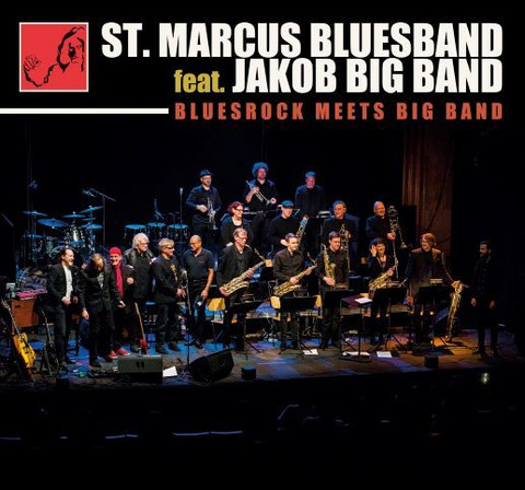 St.Marcus Bluesband feat. Jakob Big Band - Bluesrock Meets Big Band (cd)