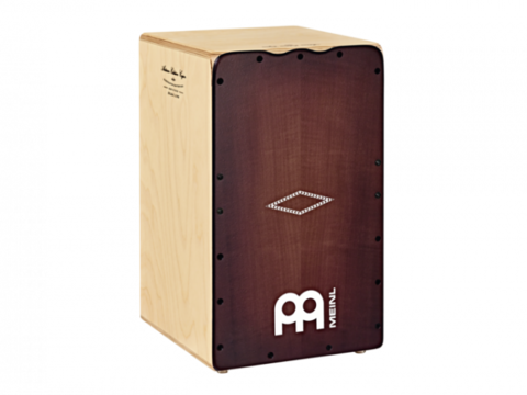 Meinl Artisan Edition Cajon Solea Line - Dark Red Burst