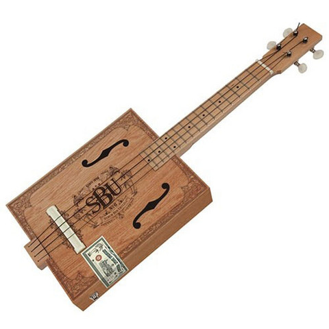 Strum Box Ukulele - cigarrlåda ukulele