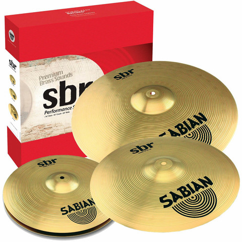 SABIAN SBR Performance Set (14'' HH, 16'' CR, 20'' R)
